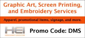 screen printing promo